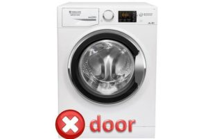 Kesalahan pintu dalam mesin basuh