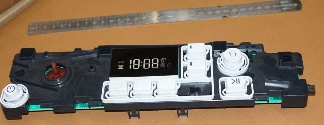 panel kawalan mesin basuh Ariston