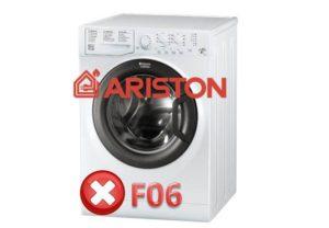 Pogreška F06 u perilici rublja Ariston