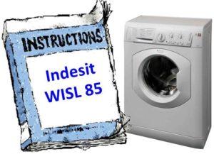 Indesit WISL 85 наръчник