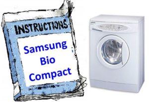 наръчник за Samsung Bio Compact