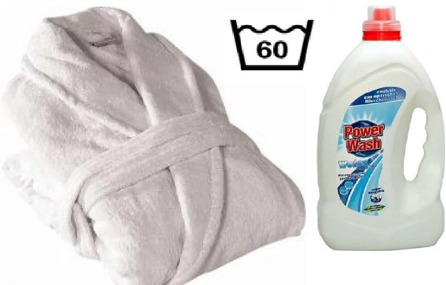 איך לשטוף חלוק רחצה