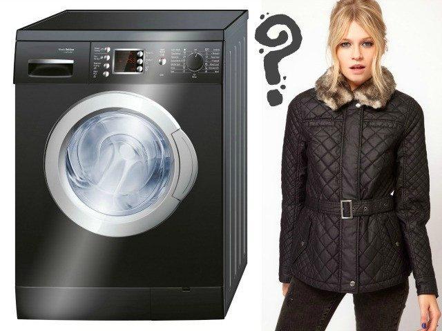 Как да измиете полиестерно яке в пералня