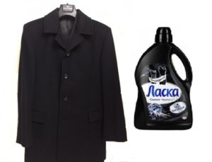 wie man einen drapierten Mantel wäscht