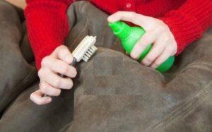 Reinigung der Garderobe