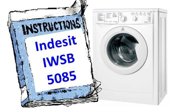 Ръководство за пералня Indesit IWSB 5085