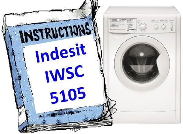 Handbuch für Waschmaschinen Indesit IWSC 5105