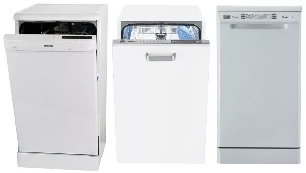 phạm vi của máy rửa chén hẹp