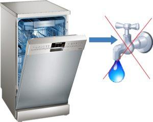 миялна машина без течаща вода
