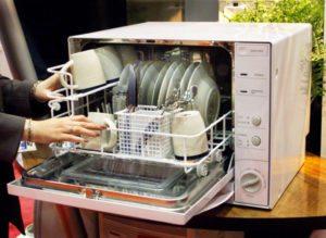 миялна машина в малка кухня