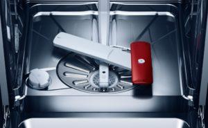 Zerlegen Sie den Mechanismus der Spülmaschine