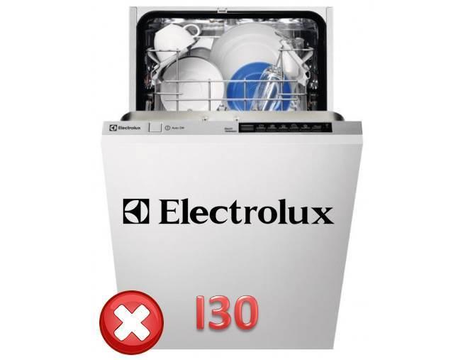 Грешка I30 в миялната машина Electrolux