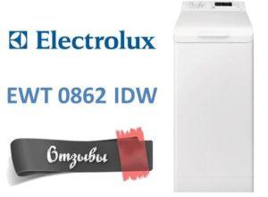 Vélemények a mosógépről Electrolux EWT 0862 IDW