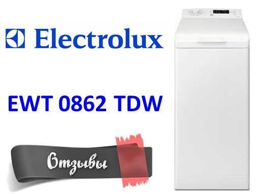 Отзиви за пералнята Electrolux EWT 0862 TDW