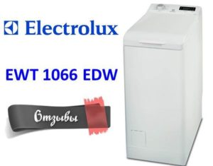 Отзиви за Electrolux EWT 1066 EDW