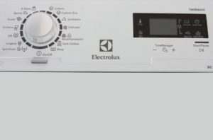 Electrolux EWT 1066 EDW контролен панел