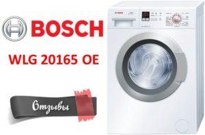 Bosch WLG20165OE mosógép vélemények