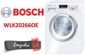 A Bosch véleménye a WLK20266OE