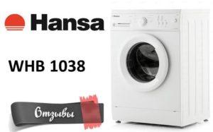 vélemények a Hansa WHB 1038-on