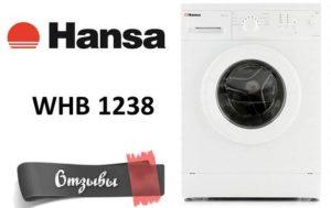 Vélemények a következőről: Mosógép Hansa WHB 1238