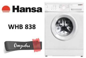 Vélemények a következőről: Mosógép Hansa WHB 838