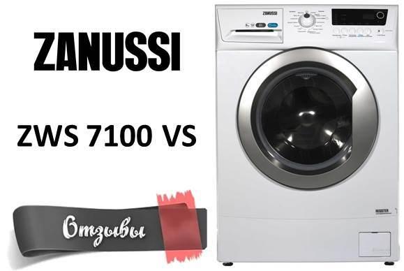 Vélemények a Zanussi ZWS 7100 VS mosógépről