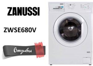 Vélemények a Zanussi ZWSE680V mosógépről