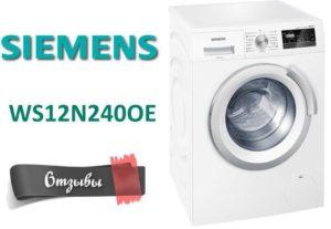 Vélemények a Siemens WS12N240OE mosógépről