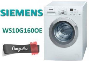 Vélemények a Siemens WS10G160OE mosógépről