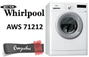 vélemények a Whirlpool AWS 71212-ről