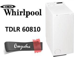 мнения за Whirlpool TDLR 60810