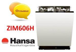 Ulasan mengenai mesin basuh pinggan mangkuk Hansa ZIM606H