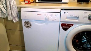 Hogyan nyílik meg a Bosch mosogatógép?