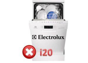 Kako popraviti pogrešku i20 u stroju za pranje posuđa Electrolux