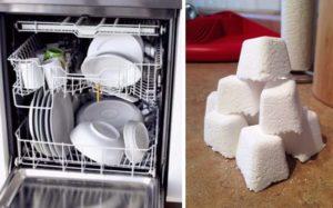 Házi készítésű mosogatógép tabletta