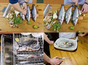 Готвене на риба в съдомиялната машина