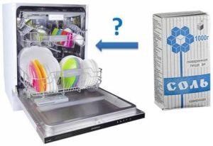 Használhatom a szokásos mosogatógép-sót?