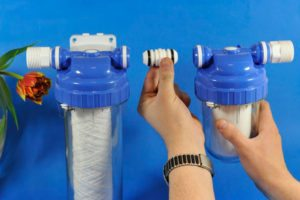 Penapis air untuk mesin basuh pinggan mangkuk
