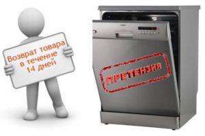 Kako vratiti perilicu posuđa