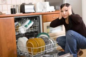 Što učiniti ako perilica posuđa zamrzne