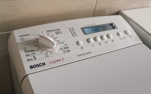 Njemačke Bosch vertikalne perilice rublja