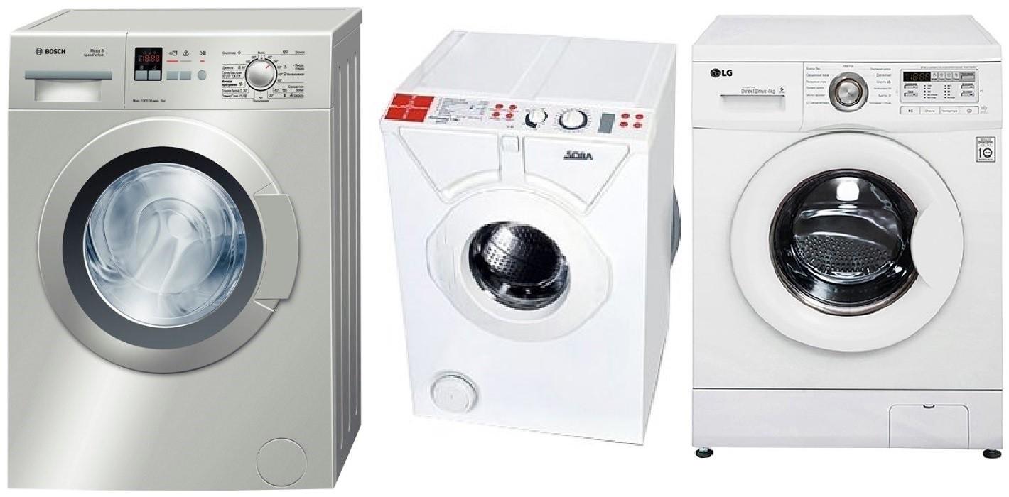 Перални машини под мивката