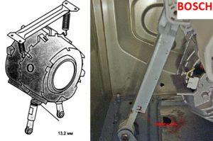 Hogyan kell cserélni a lengéscsillapítókat a Bosch mosógépen