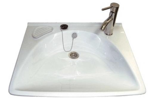 Наберете мивка с водна лилия