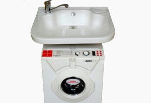 Tenggelam air di atas mesin basuh