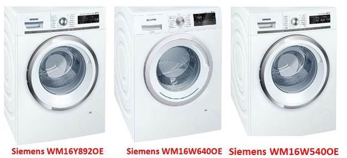 Перални машини Siemens