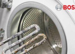 Bosch Waschmaschine heizt kein Wasser - was tun?