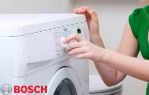 Как да използвате пералня Bosch