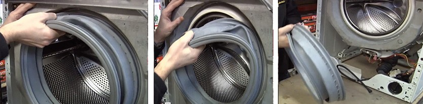 Manschettenentfernung bei SM Bosch