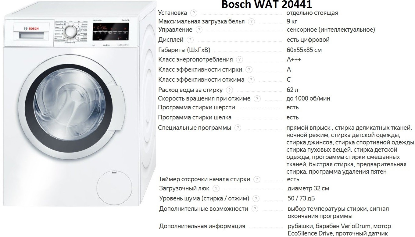 Bosch WAT 20441